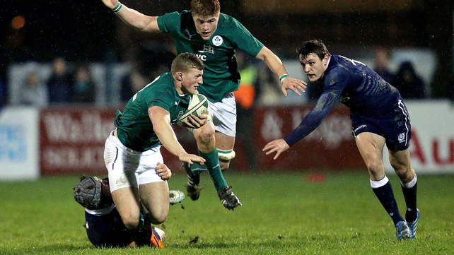 Ireland Under-20s will take on France in Tarbes tonight after a positive campaign so far