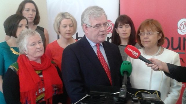 Eamon Gilmore said Ireland is among the safest countries in the world to give birth