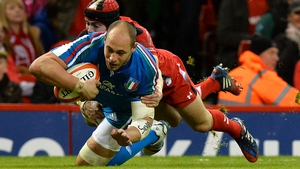 Italian captain Sergio Parisse will equal Andrea Lo Cicero as Italy's most capped player when he earns his 103rd cap