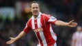 Adam on double as Stoke stun United