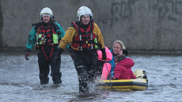 Limerick was hit by extensive floods at the weekend