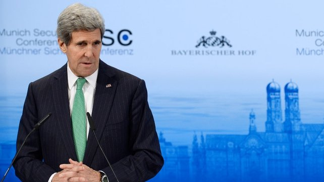 John Kerry met Iran's foreign minister on sidelines of Munich Security Conference