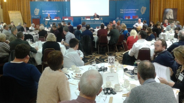 Convention recommended a number of issues including giving TDs a free vote