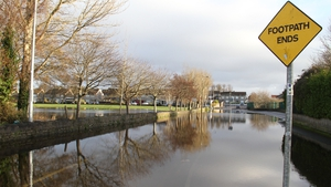 Gentle stroll out the question on this Limerick footpath (Pic: Pat Murphy)