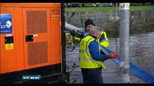 Clean-up operation in Limerick after flooding