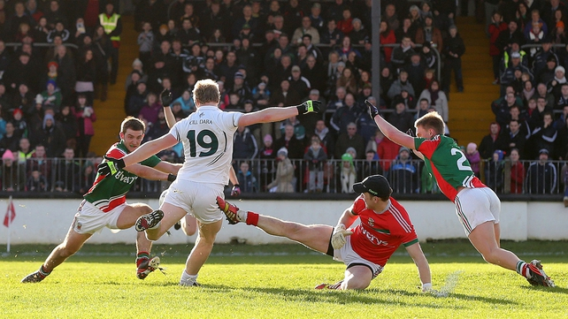 Kildare edged out Mayo in a cracking game at St Conleth's Park