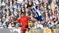 Liverpool held to a draw at West Brom