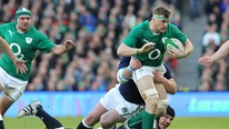 Jamie Heaslip says there is a lot to work on ahead of the meeting with Wales