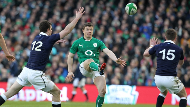 Brian O'Driscoll made more tackles than any other Irishman