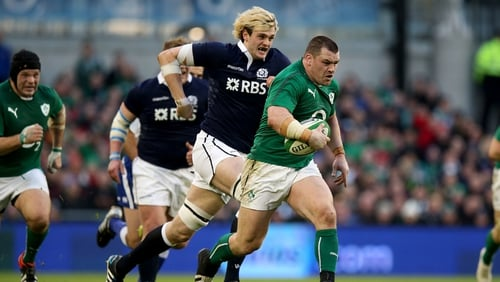 Cian Healy: 'I'm going to have to be pretty fired up, and the front row will have to work pretty well as a unit.'