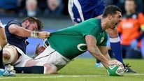 Shane Horgan and Ronan O'Gara give their reaction to Ireland's win over Scotland