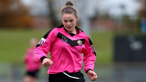 Ciara Rossiter was one of the stand out performers for Wexford Youths