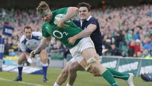 Ireland captain Jamie Heaslip led by example against Scotland