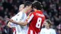 Atletico go top as Ronaldo sees red