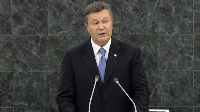 Viktor Yanukovych has said he is still the legitimate president of Ukraine
