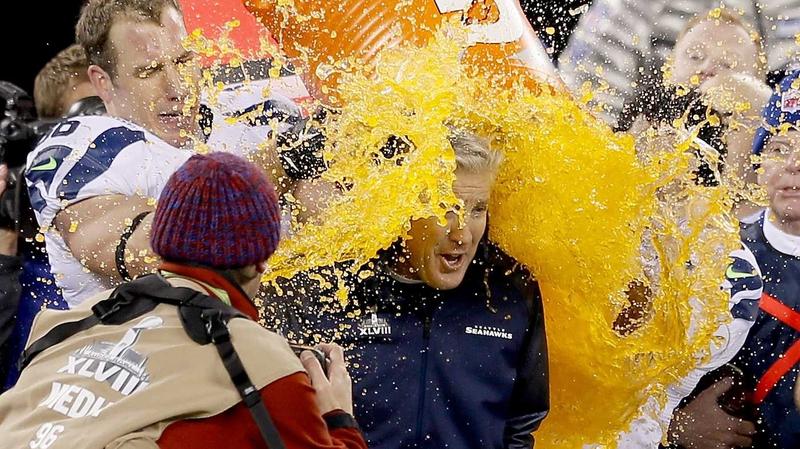 Seahawks head coach Pete Carroll