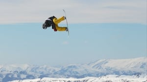 O'Connor pictured competing in the Snowboard Big Air at the Winter Games NZ
