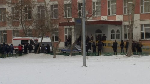 A policeman and a biology teacher were killed in the attack
