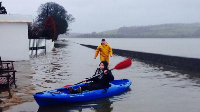 The kayaks always come in handy in Cheekpoint in Co Waterford (Pic: @AltitudeIreland)