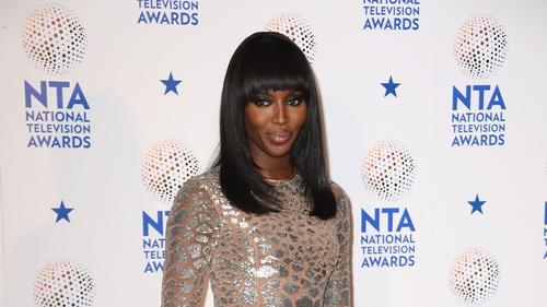 Supermodel Naomi Campbell still gets runway nerves