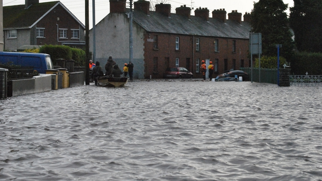 Many estates in Limerick have experienced flooding (Pic: Michael Cantillon)