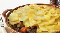 Winter Beef and Stout Hot Pot with Black Pudding - An ideal, one pot, winter family dinner option.
