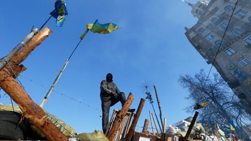 The decision by Viktor Yanukovych sparked massive protests in Ukraine (Pic: EPA)