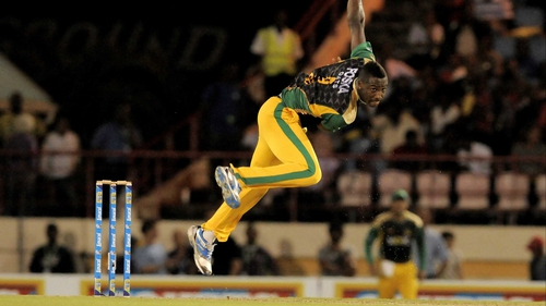Andre Russell was on form for Jamaica