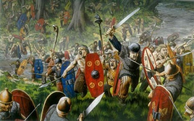 The Battle of Clontarf re-enactments are the largest such re-enactments to have ever taken place in Ireland