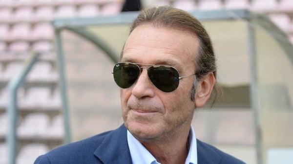 Cagliari president and prospective Leeds owner Massimo Cellino