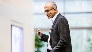 Chief executive Satya Nadella said Microsoft had 'an incredible year'