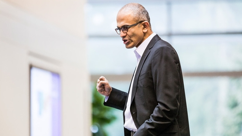 "Satya Nadella said he would work ""ruthlessly"" to remove obstacles to innovation at Microsoft"