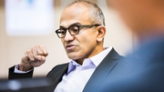 Microsoft Chief Executive Satya Nadella said innovation across its cloud platforms drove strong results this quarter