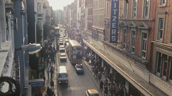Pedestrianisation of Grafton Street