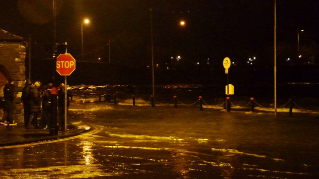 Flooding in Dungarvan, Co Waterford (Pic: Comeragh Photo)