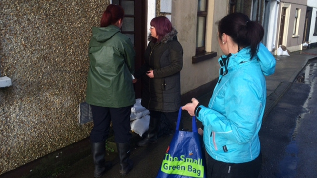 Tesco distributed Blaas to homes in Waterford after the floods