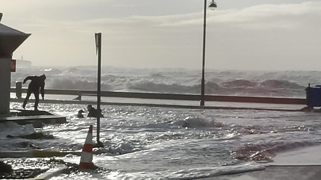 Flooding in Tramore earlier this week