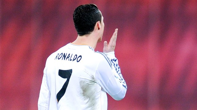 Extra ban for gesture Ronaldo made as he left field in Bilbao