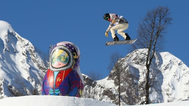 Shaun White will now concentrate on halfpipe event at Sochi