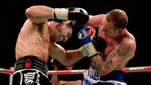 Carl Froch and George Grove meet at Wembley Stadium later this month