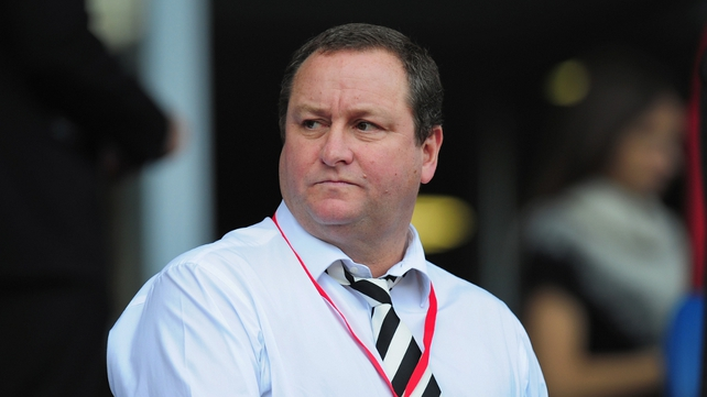 Mike Ashley receives no salary or bonus from Sports Direct