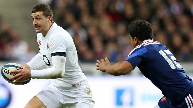 Jonny May has recovered from a nose injury and will play against Scotland