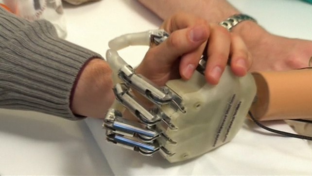 A revolutionary bionic hand with a sense of touch has been tested on a patient for the first time