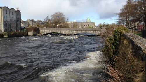 The man's body was removed from the River Corrib, close to Galway Docks