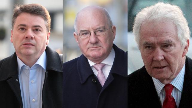 (L-R) Pat Whelan, William McAteer and Seán FitzPatrick