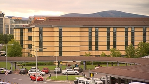 The woman was pronounced dead at Tallaght Hospital