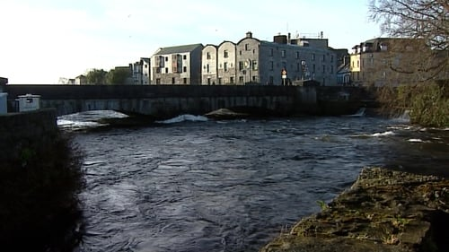 A man died after entering the River Corrib last night