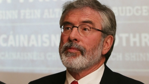 Gerry Adams said he was 'not mesmerised' by being in a coalition