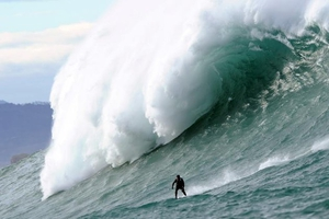 38-year-old Andrew Cotton says he intends to keep surfing despite the fall.