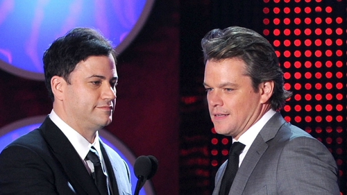 Jimmy Kimmel and Matt Damon are still at loggerheads